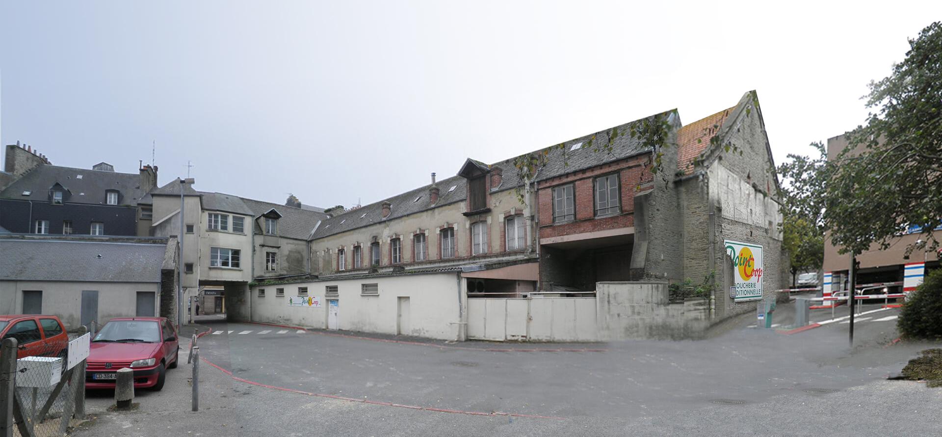ACAU Cherbourg Existant sur cour