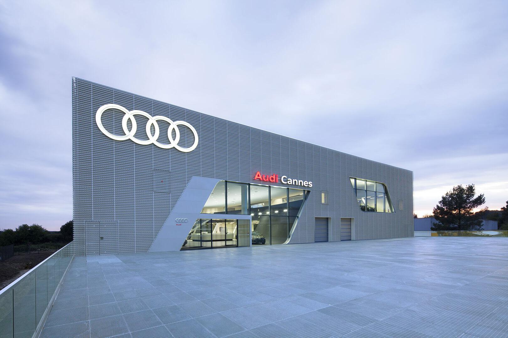 Audi Cannes Acau Le Mans Sas D Architecture
