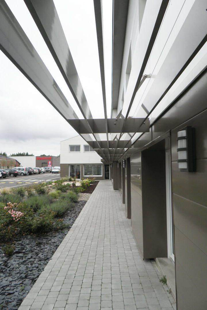 ACAU GEDIMAT GAMACHES - detail bureaux