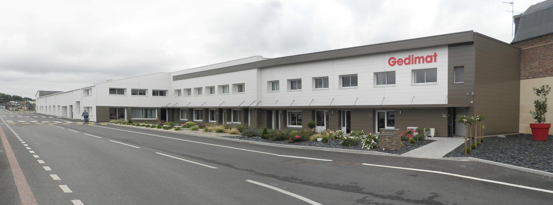 ACAU GEDIMAT GAMACHES - vue 3 bureaux
